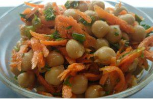 Carrot Chickpea Salad