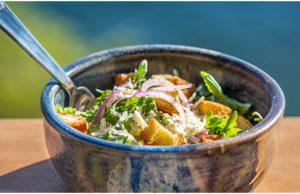 Arugula Caeser Salad