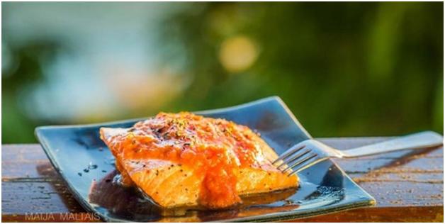 Salmon Cumin & Tomato Chutney