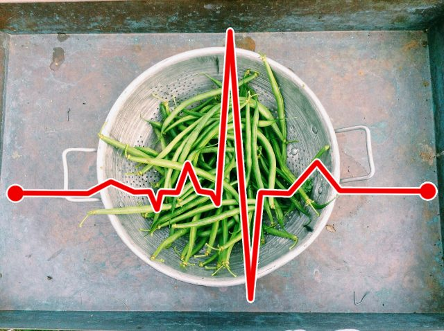 Greens Beans and Heart Rate
