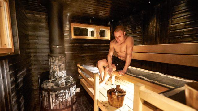 Valteri Bottas Formula 1 Secret Sauna!
