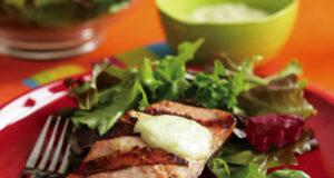Wasabi-Ginger Grilled Wild Salmon