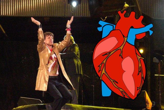 Legendary Mick Jagger's Emergency Heart Valve Surgery